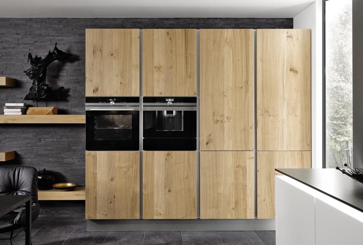 Древесные фасады кухни фото